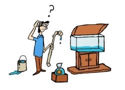 ¿como limpio mi acuario?