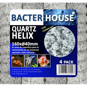 Bacter House Quartz Helix 160x40mm